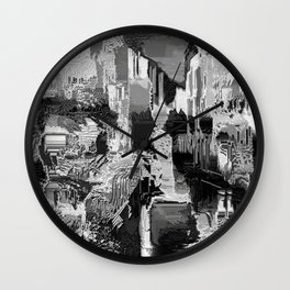 metal canal Wall Clock