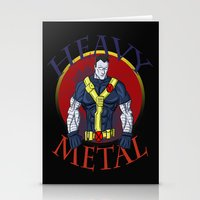heavy metal Stationery Cards featuring Heavy Metal by Iron King