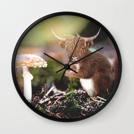 Sqcowirrel Wall Clock