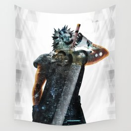 Soldier Hero Wall Tapestry