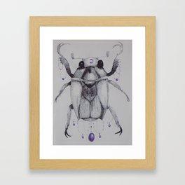 Scarabaeidae Framed Art Print