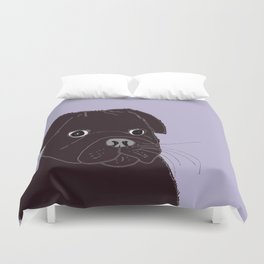 Somedays he's sweeter than others.  Duvet Cover