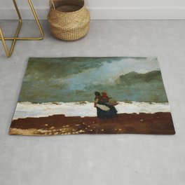 Two Figures By The Sea - Digital Remastered Edition Rug