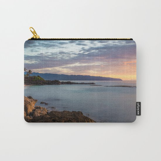 Three Tables Beach, Haleiwa, USA Carry-All Pouch