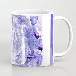 The Gathering Of The Peonies And Butterflies Coffee Mug