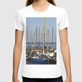 Sailboat Marina - Warnemünde - Baltic Sea T-shirt