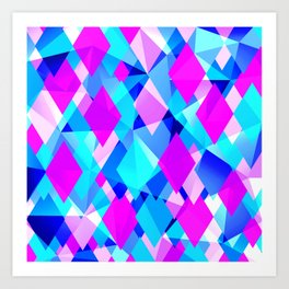 Life in Color Modern Abstract Art Print