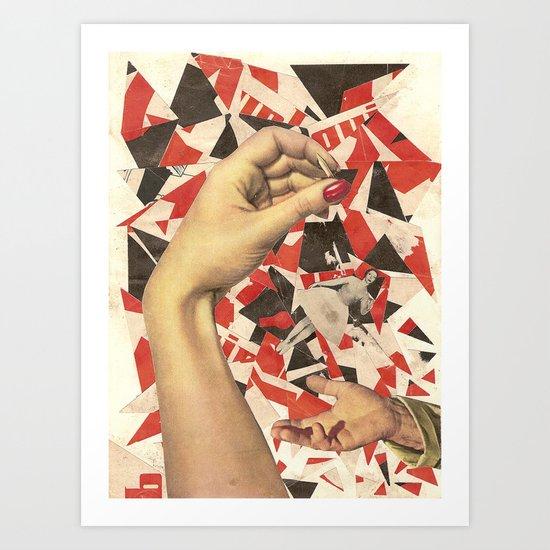 Downfall / La chute Art Print
