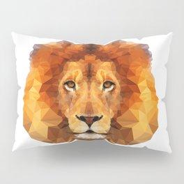 Geometric Lion Pillow Sham