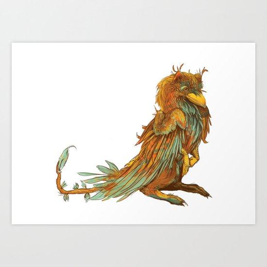 The Golden Bird Art Print