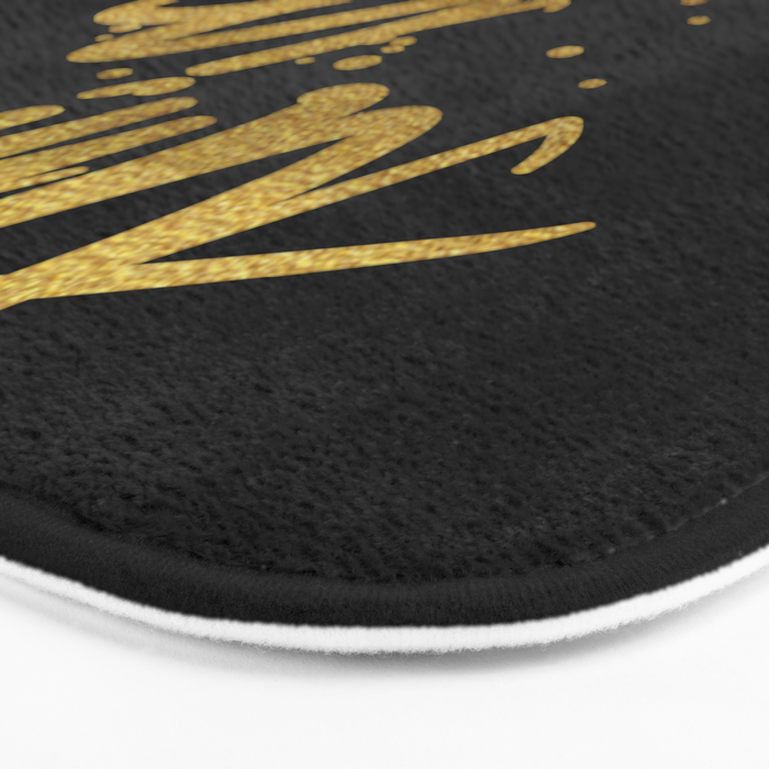 Time Is Now Bath Mat