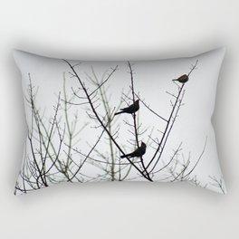 Resting Birds Rectangular Pillow