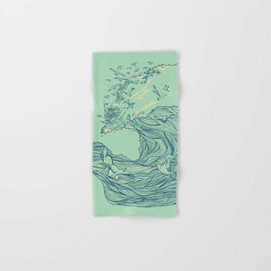 Ocean Breath Hand & Bath Towel