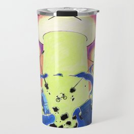 They Came From Carrot Space Travel Mug