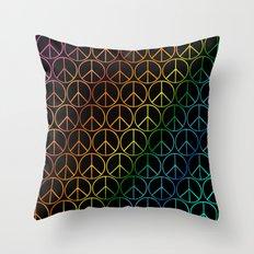 Peace1 Throw Pillow