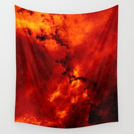 Rosette Nebula Space Photography Wall Tapestry