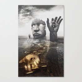 when the war is over .version2  Canvas Print
