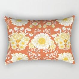 Daisy Delight Rectangular Pillow
