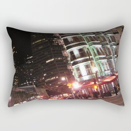 Sentinel Building at Night Rectangular Pillow