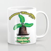 warcraft Mugs featuring Banana Energy Co. by SmallWheel