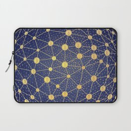 Cryptocurrency mining network Laptop Sleeve