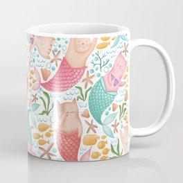 Purrmaids Pattern Coffee Mug
