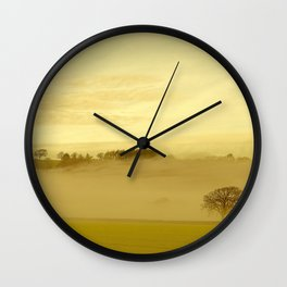 Fog 32 Wall Clock