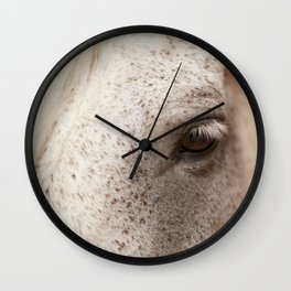 Into The Eye Of A Horse Wall Clock