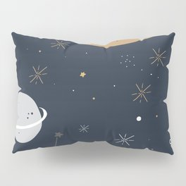 The Moon and the Stars Pillow Sham