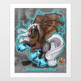 Electro Cutie Art Print