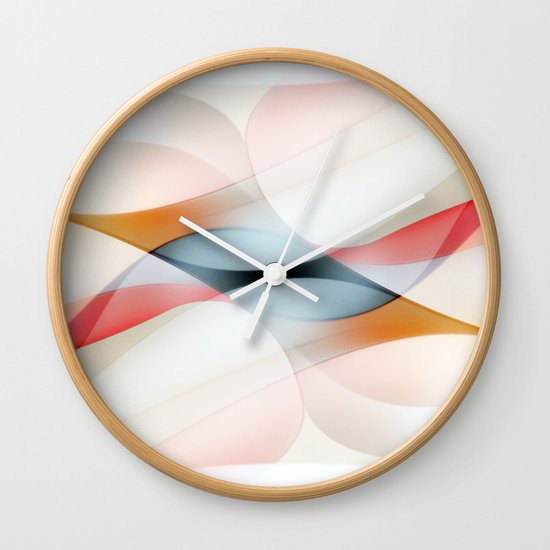The lines Wall Clock