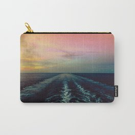 Vanilla Sky Over The Ocean Carry-All Pouch