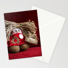 Russian gnome. Stationery Cards
