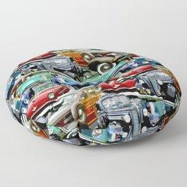 Classic Cars (K.T.B.) Floor Pillow