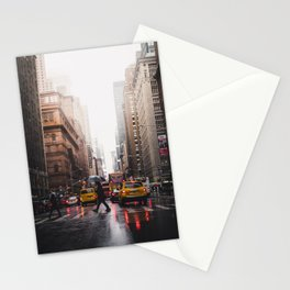 New York Yellow Cab Stationery Cards