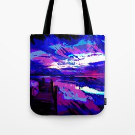 who was dragged down by the stone? Tote Bag