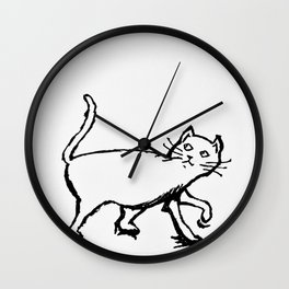 Cat Sight Wall Clock