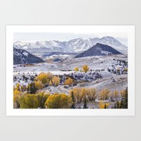 gore Art Prints featuring Gore Range by Two Happy Campers