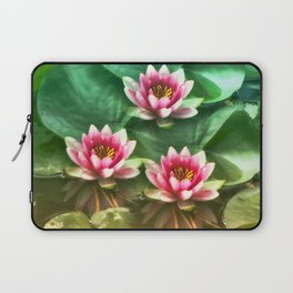 Waterlilies delicate Laptop Sleeve