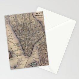 Lower Manhattan New York City Stationery Cards