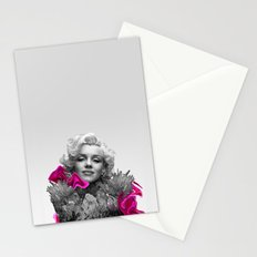 Quartz Armor & Roses in Her Hair Stationery Cards