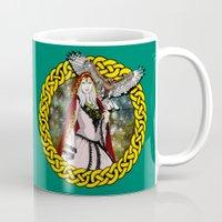 goddess Mugs featuring Goddess by Astrablink7