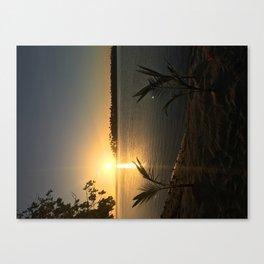 Vahine Private Island Canvas Print