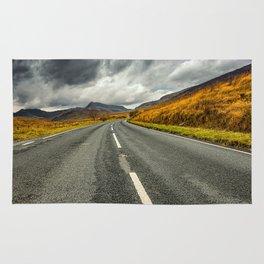 Winding Welsh Road Rug
