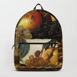 "Michelangelo Merisi da Caravaggio ""Basket of Fruit"" Backpack"