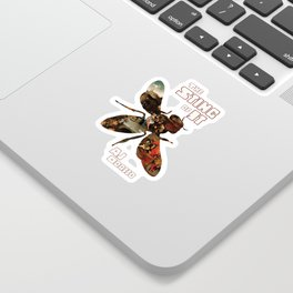 The Sting of It - Cover Art Sticker