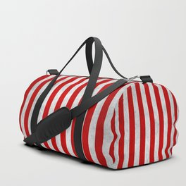 Stripes Collection: Candy Cane Duffle Bag