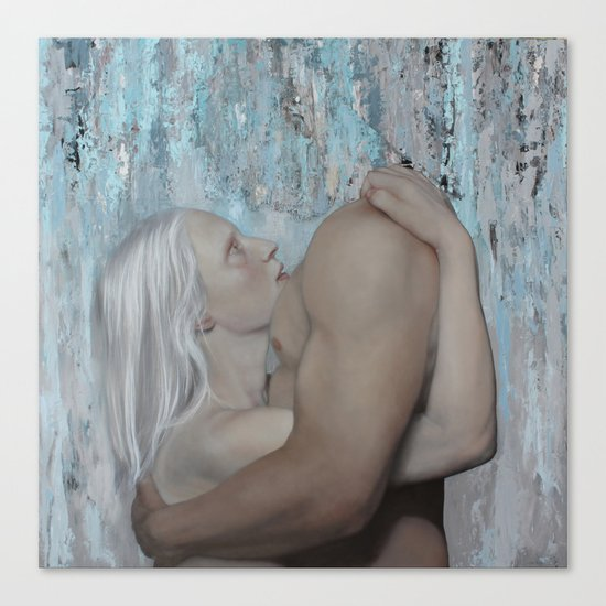 Consensual Fiction Canvas Print