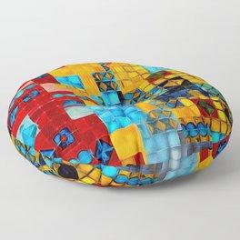 Madness II Floor Pillow