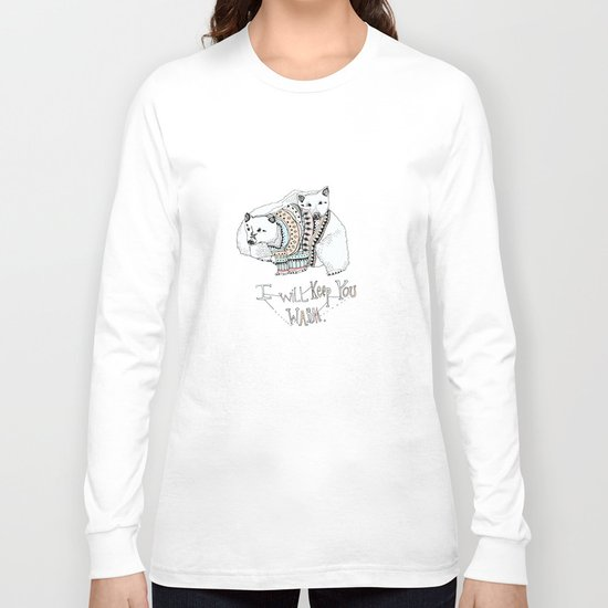 i will keep you warm Long Sleeve T-shirt